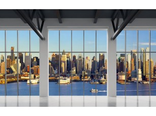 Обои Urban Панорамное окно 18471