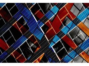 Обои Urban Colored glass 18473