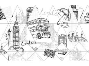 Обои Urban Штрих Лондон 18485