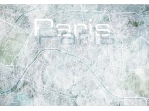 Обои Urban Paris map 18487