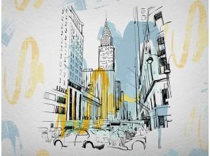 Обои Urban Yellow line 18524