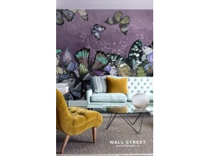Обои Wonderland Бабочки на стене 2 19529