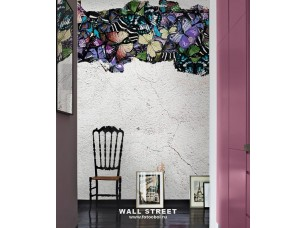 Обои Wonderland Бабочки на стене 3 19530