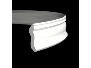 Карниз европласт 1.50.105 гибкий белый