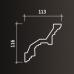 Карниз европласт 1.50.111