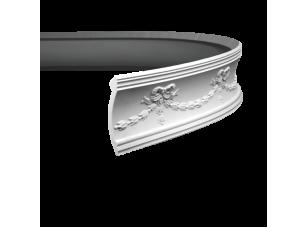 Карниз европласт 1.50.120 гибкий белый