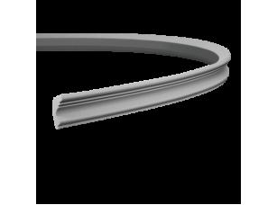 Карниз европласт 1.50.122 гибкий белый