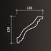 Карниз европласт 1.50.133