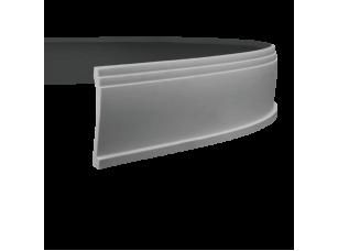 Карниз европласт 1.50.135 гибкий белый
