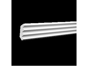 Плинтус потолочный европласт 1.50.140 белый грунт