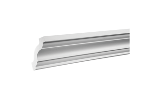 Плинтус потолочный европласт 1.50.141 белый грунт