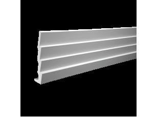 Плинтус потолочный европласт 1.50.142 белый грунт
