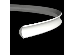 Карниз европласт 1.50.154 гибкий белый