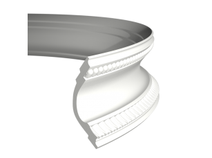 Карниз европласт 1.50.164 гибкий белый