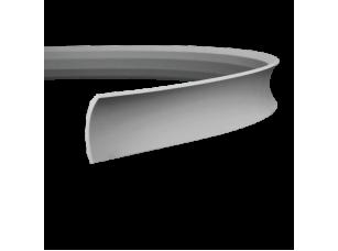 Карниз европласт 1.50.165 гибкий белый
