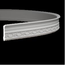 Карниз европласт 1.50.186 гибкий белый