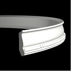 Карниз европласт 1.50.190 гибкий белый