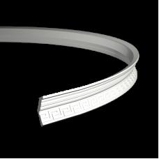 Карниз европласт 1.50.193 гибкий белый