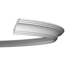 Карниз европласт 1.50.199 гибкий белый