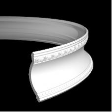 Карниз европласт 1.50.203 гибкий белый