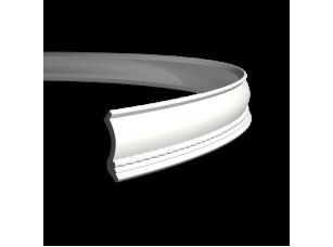 Карниз европласт 1.50.208 гибкий белый