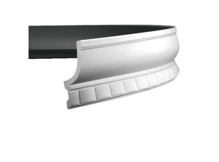 Карниз европласт 1.50.210 гибкий белый