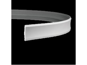 Плинтус европласт 1.53.104 гибкий белый