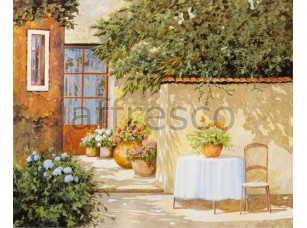 Фреска Сельский дворик, арт. 6758