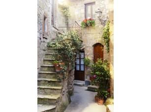 Фреска Красивый дворик, арт. ID12052