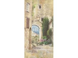 Фреска Арка с домами, арт. 4169