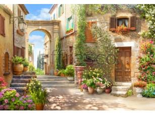 Фреска Солнечный дворик, арт. 6497