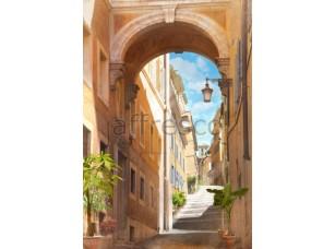 Фреска Улочка в арке, арт. 4954