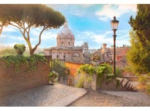 Фреска Утро в Риме, арт. 4948