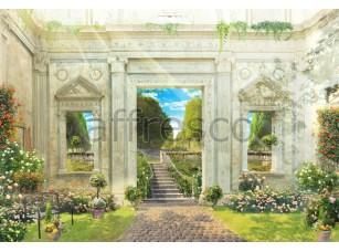 Фреска Итальянский классический парк, арт. 4939