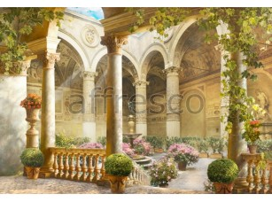 Фреска Классический дворик, арт. 4960
