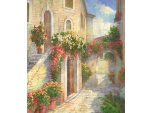 Фреска Цветочная улочка, арт. 6216