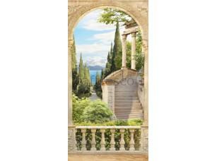 Фреска Кипарисы и море, арт. 6912
