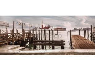 Фреска Венецианский причал, арт. ID10387