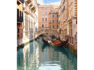 Фреска Гондолы у мостика, арт. 4944