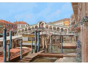 Фреска Вид на мостик, арт. 6866