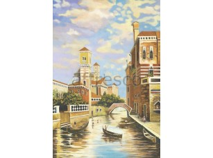 Фреска Городской канал, арт. 4757
