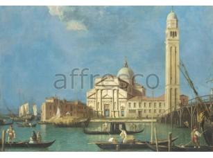 Фреска Гондолы в Венецианском заливе, арт. 4161