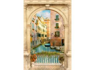 Фреска Арка с видом на Венецию, арт. 4961