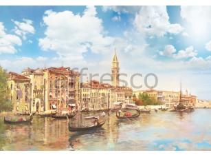Фреска Вид с канала на Венецию, арт. 6211