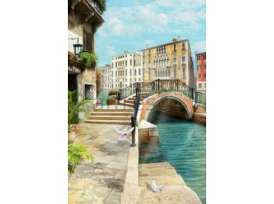 Фреска Голуби в Венеции, арт. 4931