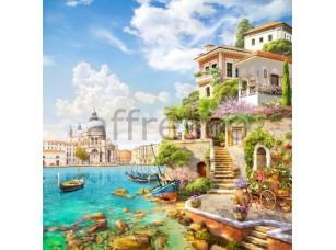 Фреска Домик в Венеции, арт. 6526