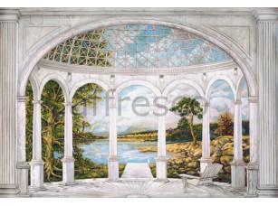 Фреска Беседка у озера, арт. 4258