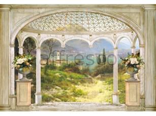 Фреска Вид беседки на залив, арт. 4520