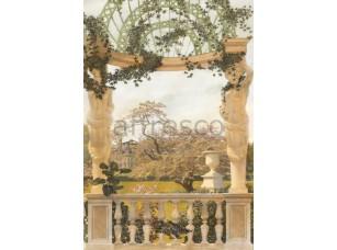 Фреска Беседка с статуями, арт. 4920