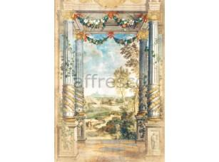 Фреска Вид из беседка на парк, арт. 6189
